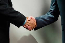Executive Handshake
